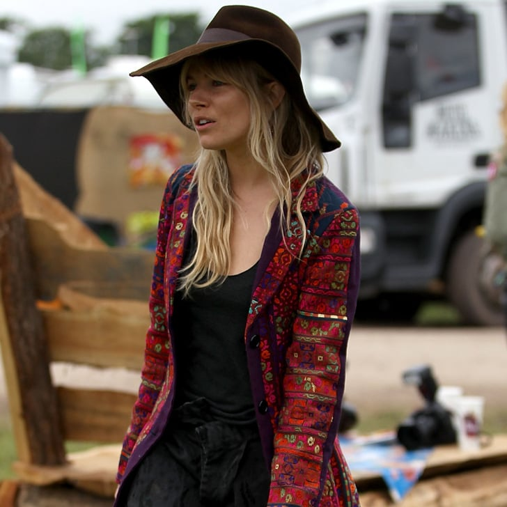 Celebrities With Hippie Style