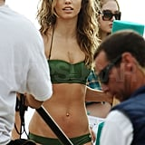 AnnaLynne McCord let her hair down in a bikini.