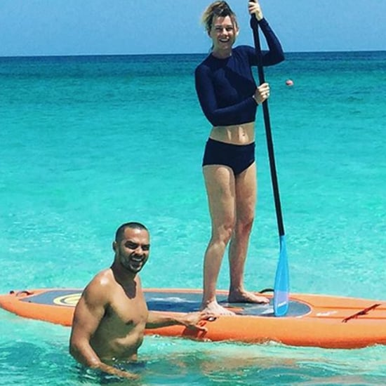Jesse Williams and Ellen Pompeo Vacation Pictures July 2016
