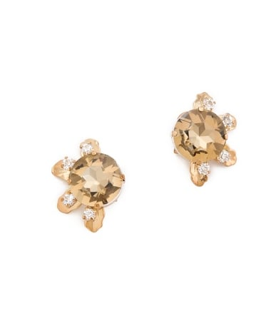 Subtle, but still sparkly these Lulu Frost Hestia Stud Earrings ($96) are the perfect piece for giving your work wear a little holiday flair.