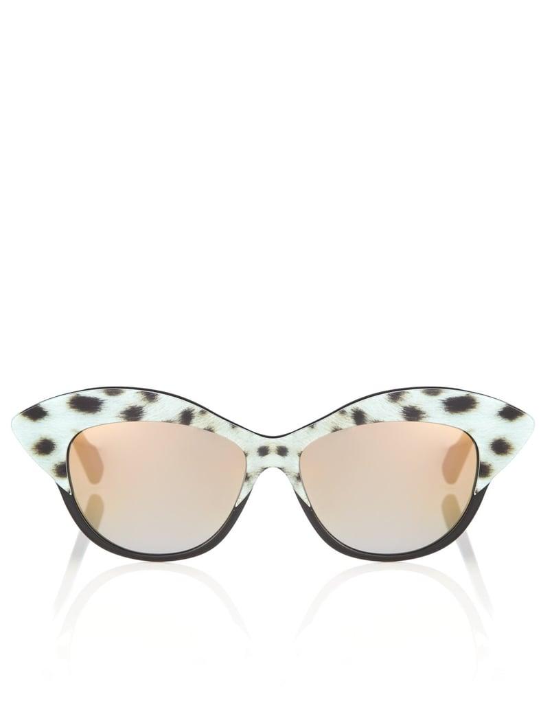 Sunglasses With Ocelot Print