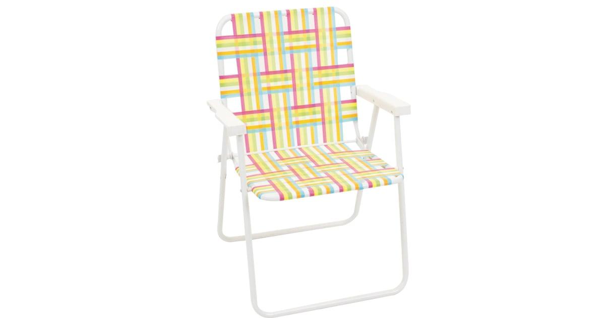 Webstrap Folding Beach Chair Beach Chairs From Target