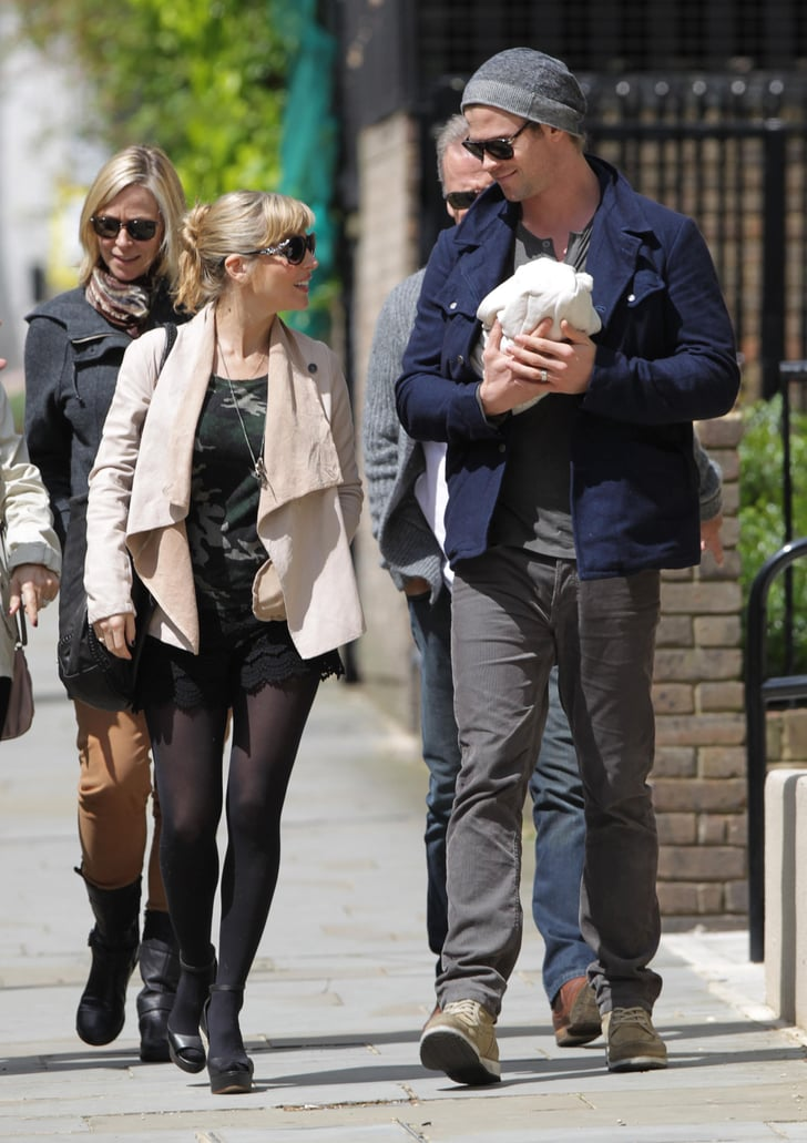 New Parents Chris Hemsworth And Elsa Pataky Stepped Out -2389