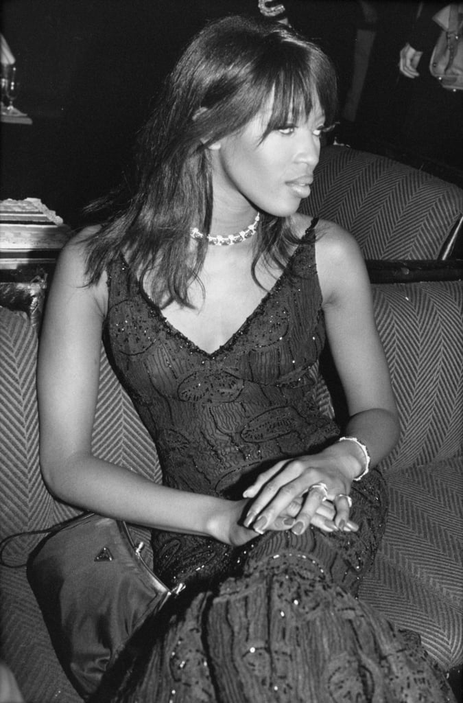 Naomi Campbell attended a party for the film Ed Wood during the festival in 1995.