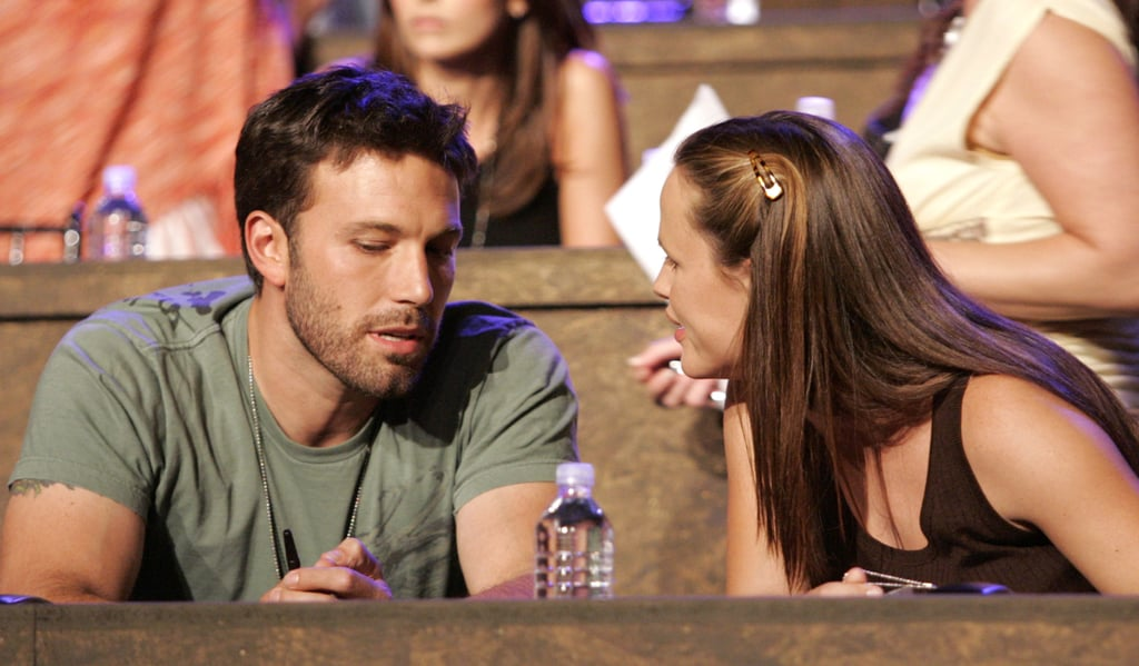 Ben Affleck and Jennifer Garner stuck close at the September 2005 Shelter From the Storm: A Concert For the Gulf Coast, where they manned a phone bank in LA to accept donations from callers.