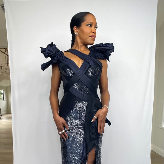 Regina King's Ponytail at the 2021 Critics' Choice Awards