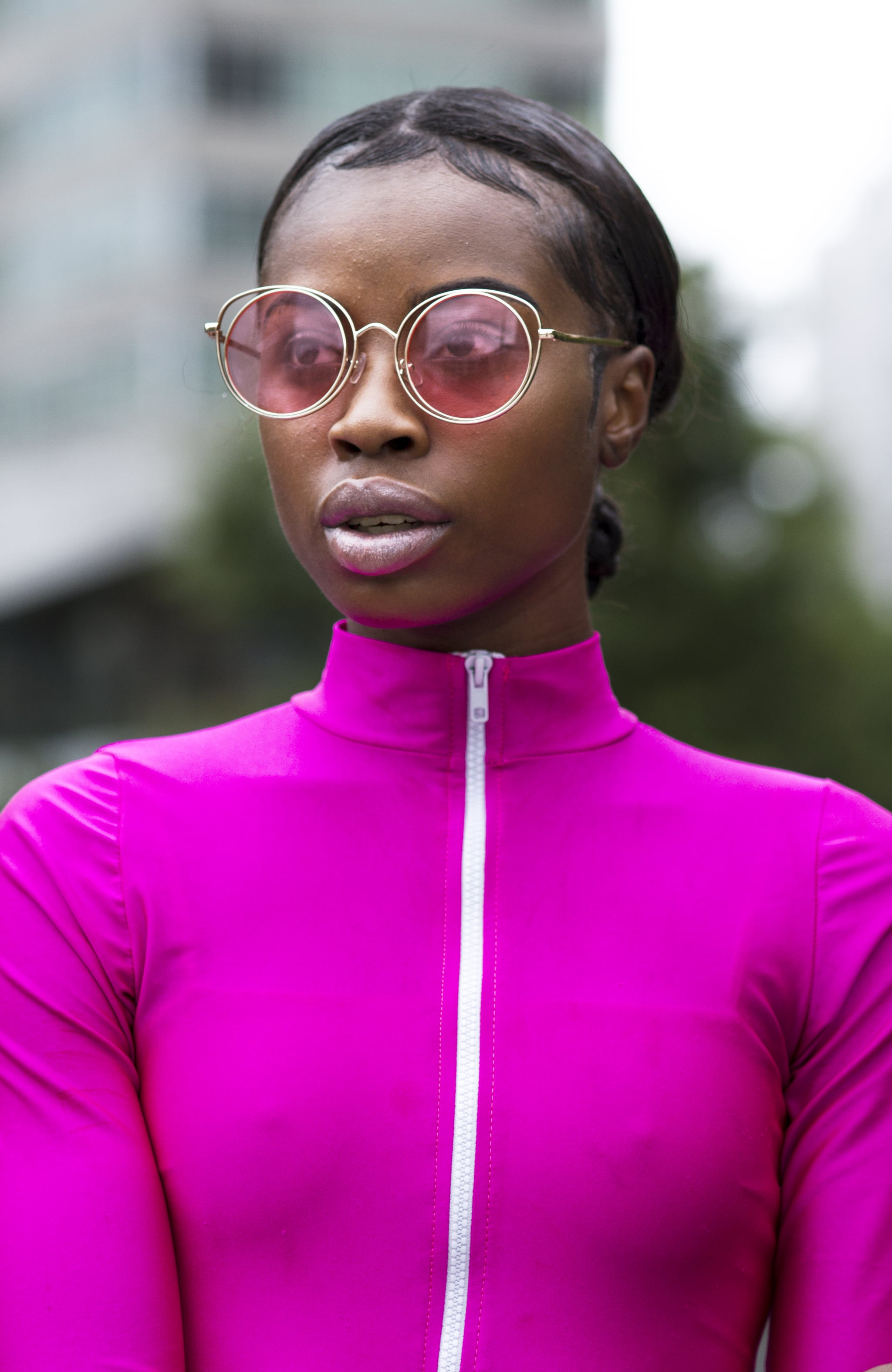 OVERSIZED EXAGGERATED Funky Retro SUNGLASSES Unique Purple Crystal Fashion Frame