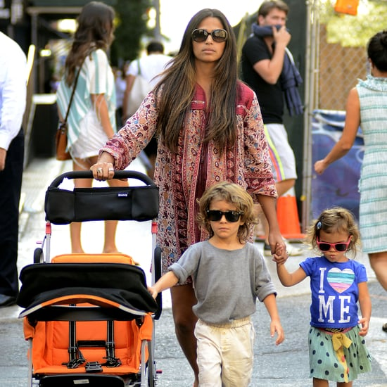 Camila Alves and Matthew McConaughey in NYC | Pictures