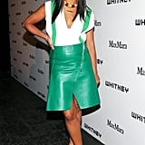Hannah Bronfman wore Max Mara at the 2013 Whitney Art Party in New York. Source: David X Prutting/BFAnyc.com