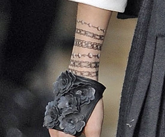 New Out: Trompe L'oeil de Chanel Body Tattoos