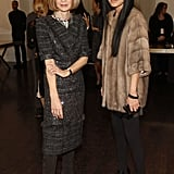 Anna Wintour and Vera Wang