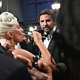 Pictured: Lady Gaga and Bradley Cooper