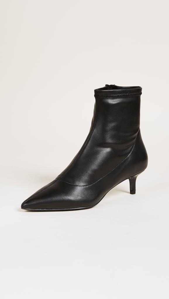 644518c3ac9 Free People Marilyn Kitten Heels | Vegan Gifts | POPSUGAR Fashion ...