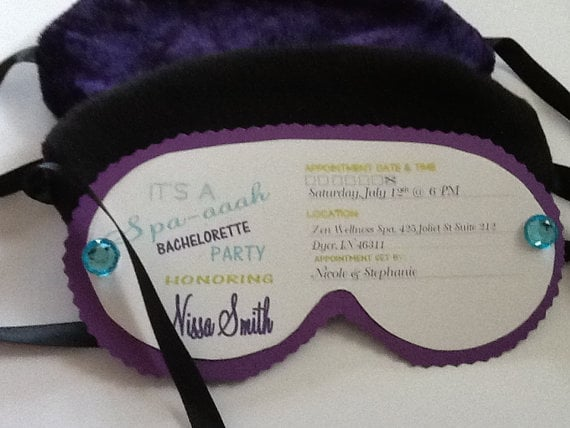 Eye Mask Invites Sleepover Party Ideas For Adults Popsugar Love