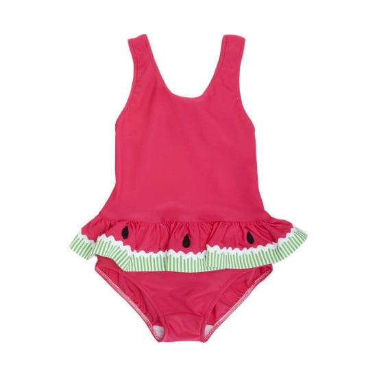 Florence Eiseman Watermelon Peplum Swimsuit