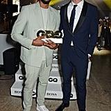 Chadwick Boseman and Chris Hemsworth