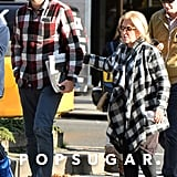 Bradley Cooper With His Mom in NYC Pictures