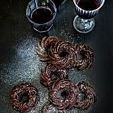 Mini Chocolate and Red Wine Bundt Cakes