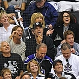 Will Ferrell watched the LA Kings Stanley Cup finals game in LA.