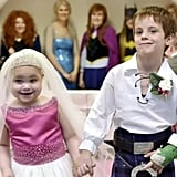 When a little girl with terminal cancer got to marry her best friend.