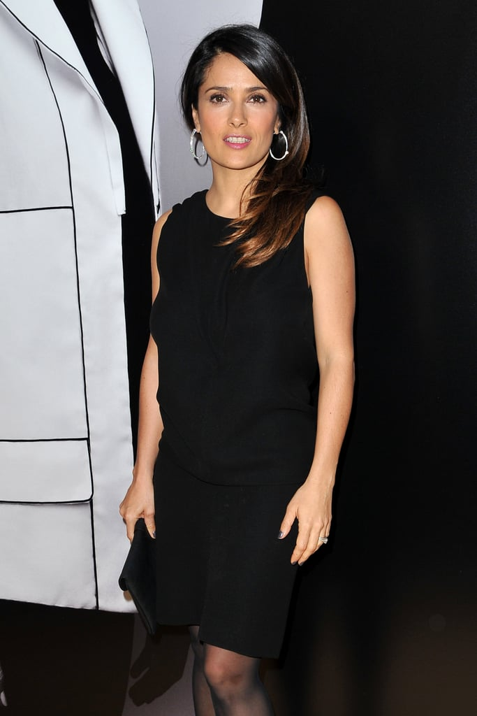 Salma Hayek at Hogan by Karl Lagerfeld