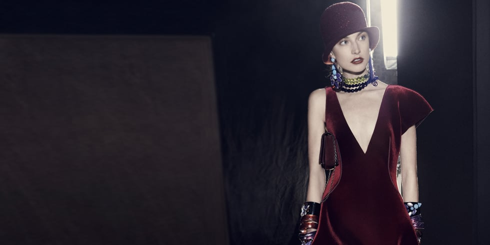 The Beauties Backstage: Emporio Armani's Cinematic Fall 2013 Campaign