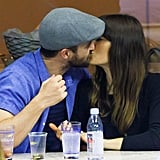 Justin Timberlake and Jessica Biel at the US Open 2017