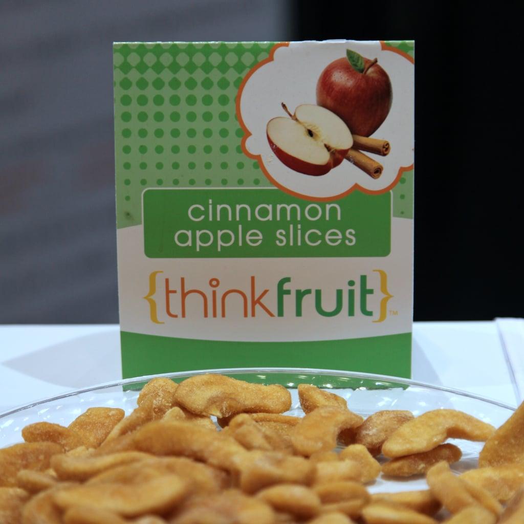 Best Sweet Snack: Thinkfruit Cinnamon Apple Slices