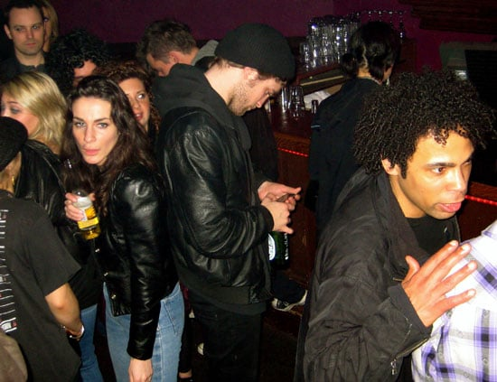 Photo of Twilight's Robert Pattinson At a Bar in Vancouver