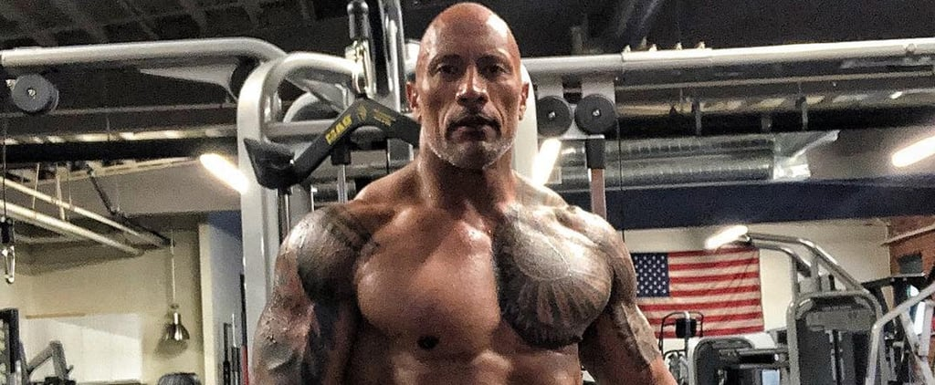 Dwayne Johnson Trains For Hobbs and Shaw October 2018