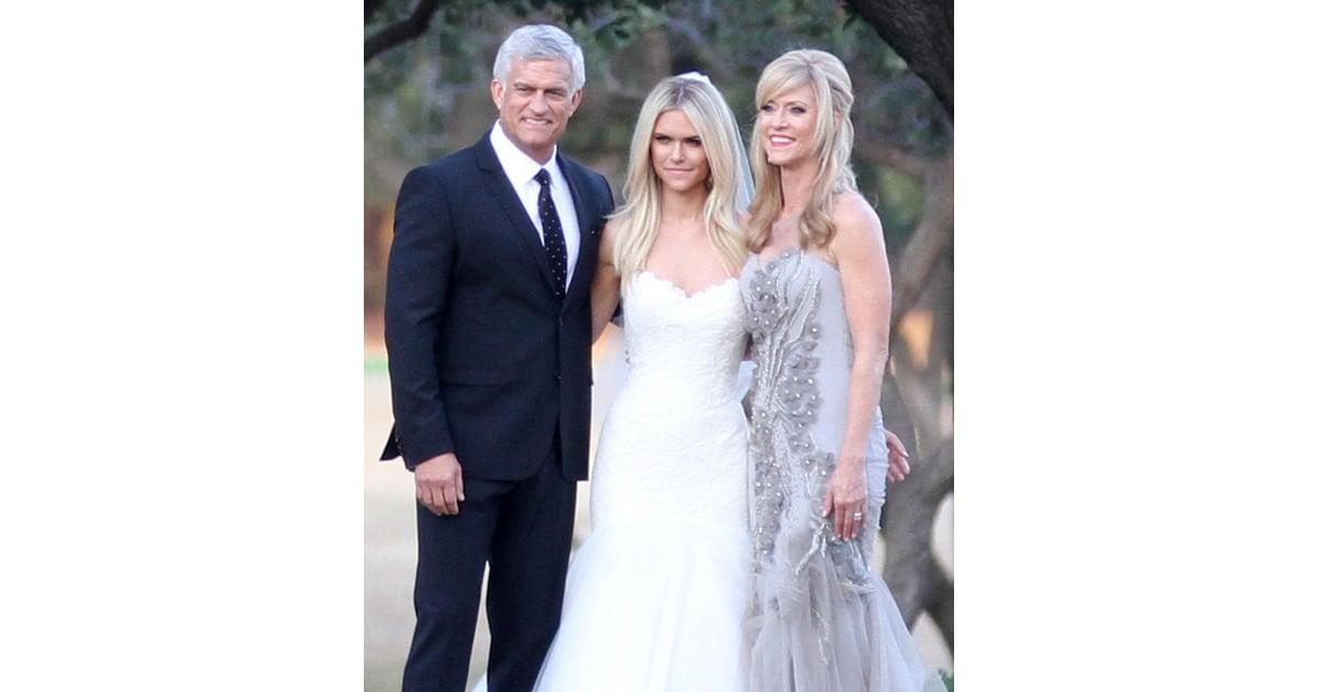 Lauren Scruggs Wedding Dress with Bow