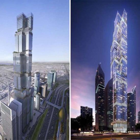 دبي تبنى ثاني أطول برج في العالم