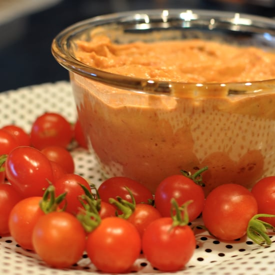 Roasted Tomato Hummus Recipe