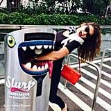 Dobrev found this unusual trash can in Switzerland. Source: Instagram user ninadobrev