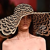 A Hat on the Oscar de la Renta Runway During New York Fashion Week