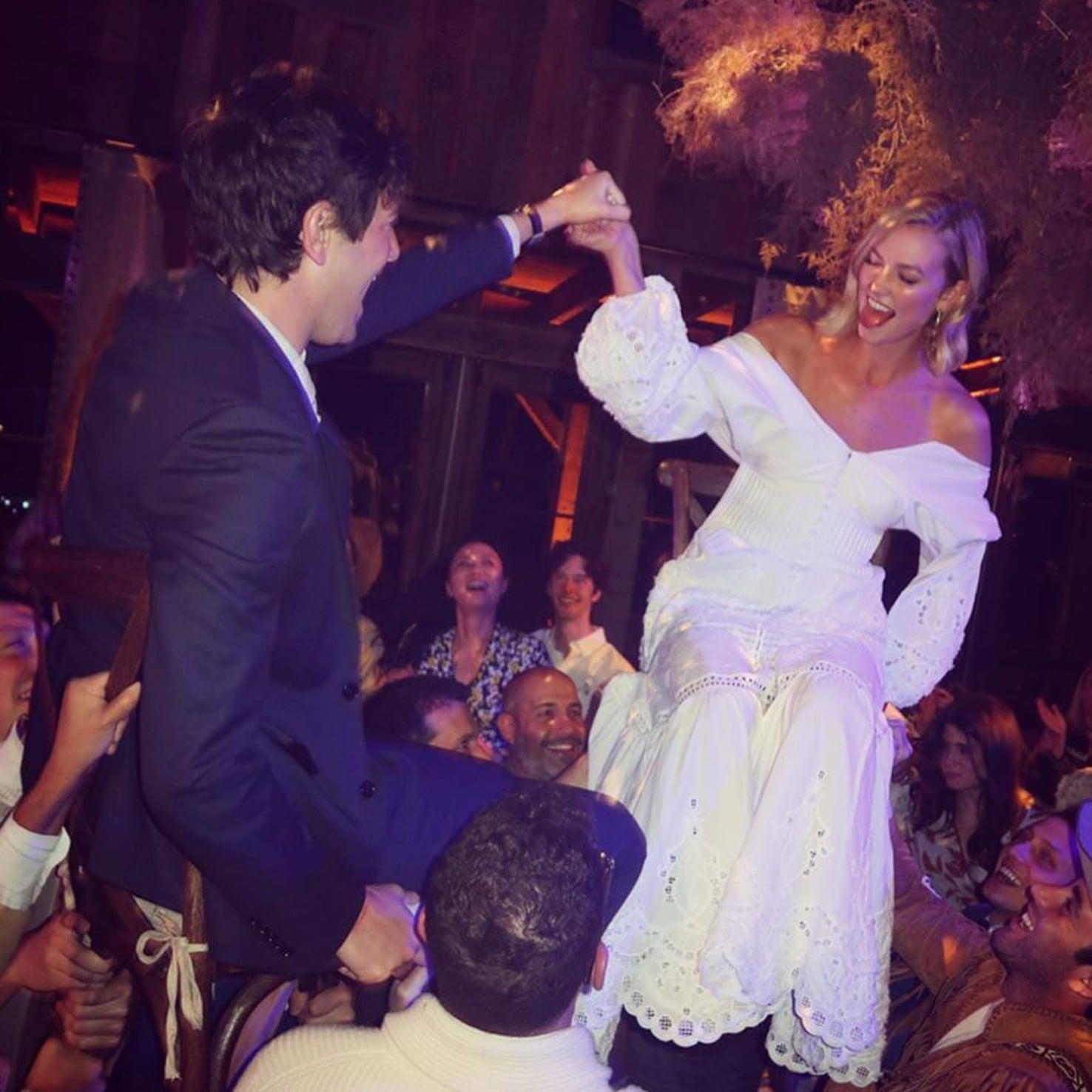 Karlie Kloss's Second Wedding Dress | POPSUGAR Fashion UK