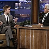 Robert Pattinson on Leno