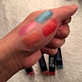 """""""These lipsticks are perfect,"""" Nguyen enthused. """"They are gorgeous on their own with their pearlescent finish, but could look awesome layered with one another."""""""