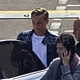 Leonardo DiCaprio in Sydney for The Great Gatsby.