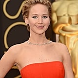 Jennifer Lawrence at 2014 Oscars