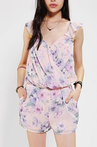 This Lucca Couture chiffon floral romper ($59) is the epitome of femininity.