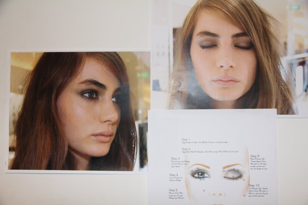 "Napoleon Perdis' face chart, detailing his ""2013 smokey eye"". Less black, more bronze. Purdy."