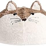 Fox Faux-Fur Critter Beanbag