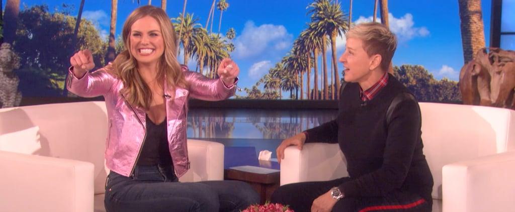 Hannah Brown on The Ellen DeGeneres Show March 2019