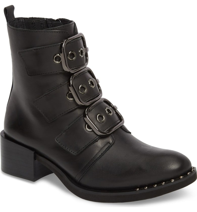 Jeffrey Campbell Todd Buckle Strap Booties