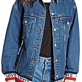 Levi's Sport Tape Baggy Trucker Denim Jacket