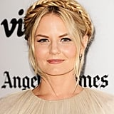 Jennifer Morrison was at the premiere of Some Girl(s) with a fun take on the classic milkmaid braid. Instead of a regular braid, she went for a fishtail braid to add a new kind of texture to the look.