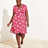 Loft Plus Floral Wrap Dress