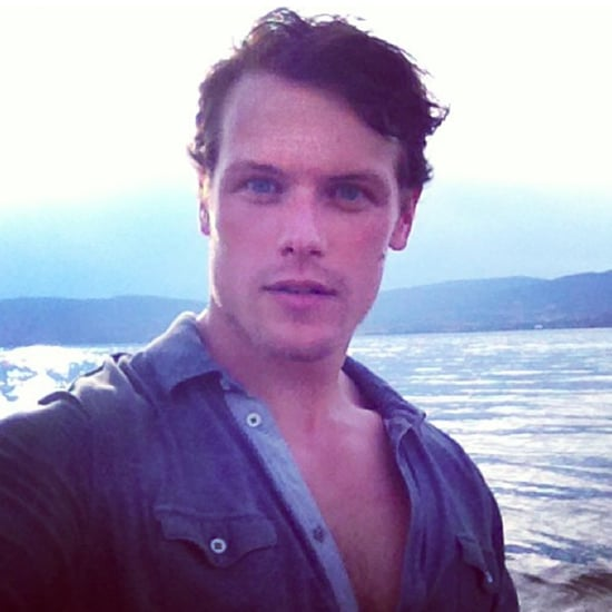 Sam Heughan Sexy Instagram Pictures