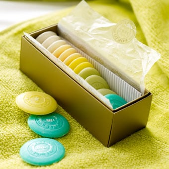 Box of Small Guest Soaps ($23)
